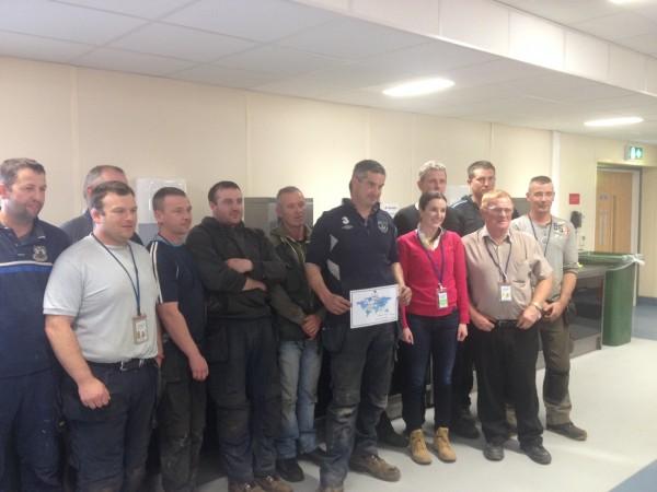 KSSL win Safety Award in Intel.