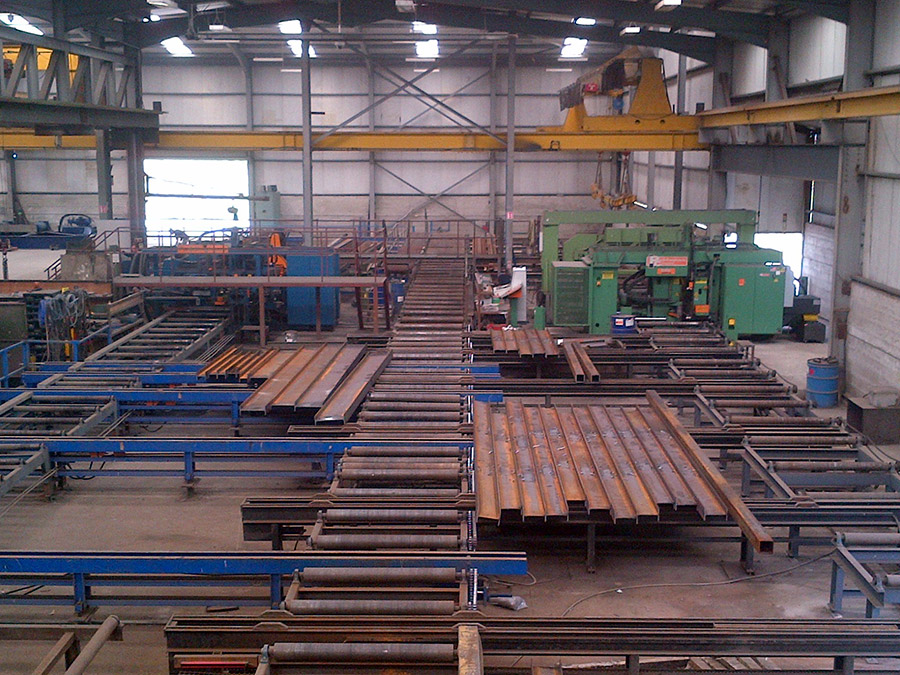 Steel Fabrication | Kiernan Structural Steel Ltd